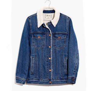 {Madewell} Oversized Denim Jacket Size L